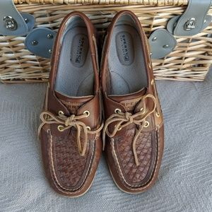 Leather Sperry's